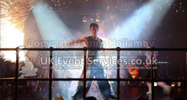 bespoke event lighting for conference, theatre, weddings, birthdays, fashion shows